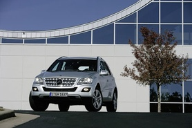 Mercedes-Benz M-Class revamped for 2008