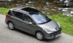 The Peugeot 207 SW Outdoor