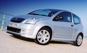 Free insurance on selected Citroen C2 models