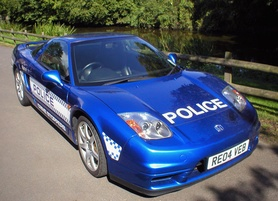 Honda lend the police NSX appeal