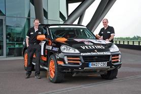Porsche Cayenne S Transsyberia enters Rallye Transsyberia