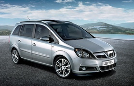 Prices announced for new Vauxhall Zafira