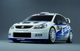 Suzuki SX4 to contest the World Rally