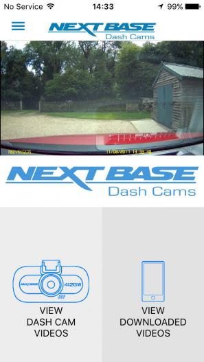 Nextbase's Cam Viewer app