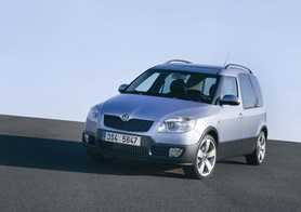 Skoda Roomster Scout breaks cover
