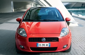 Five star safety for Fiat Grande Punto