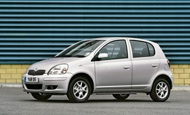 Toyota Yaris Colour Collection