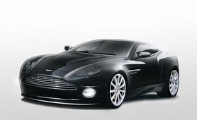 Aston Martin Celebrates Flagship Vanquish Model