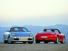 Porsche Boxster and Boxster S