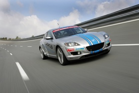 Mazda RX-8 sets 40 international records in 24 hour race