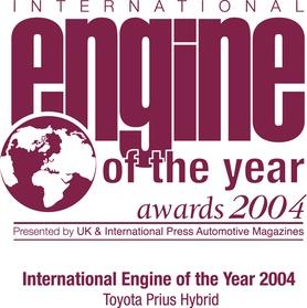 Toyota Prius wins International Engine of the Year 2004
