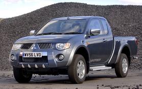 Mitsubishi L200 range extended