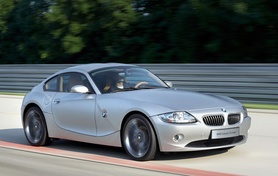 BMW Concept Z4 Coupe and Concept X3 EfficientDynamics hybrid