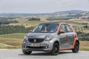 2015 Smart fortwo and forfour priced from £11,125, £11,620