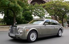 Paris debut for Rolls-Royce Phantom