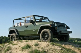 Long wheelbase Jeep J8 for commercial and military applications