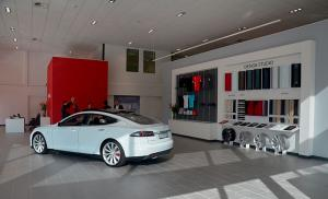 Tesla Gatwick Store