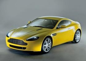 Aston Martin launches the V8 Vantage