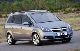 New Vauxhall Zafira 140PS 1.8