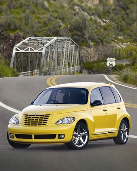 New look and new engine for 2006 Chrysler PT Cruiser