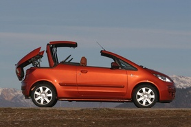 Mitsubishi Colt CZC Coupe Cabriolet weekend give away