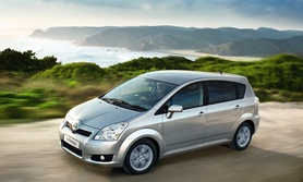 Higher specification for new 2008 Toyota Verso SR