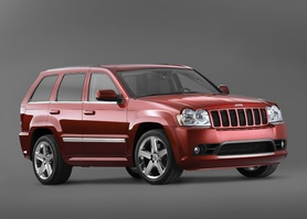 Jeep introduces new 2006 Grand Cherokee SRT8