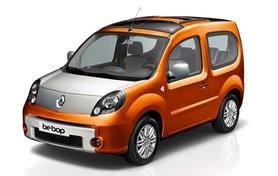 Renault Kangoo be bop unveiled