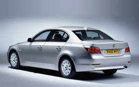 The new BMW 520d