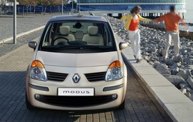 Renault Liberty Service Plan for Modus