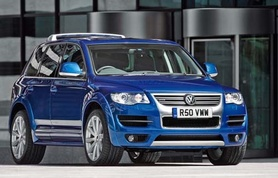 Volkswagen Touareg R50 UK prices and specifications