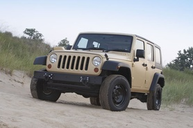 Jeep Wrangler-based J8 multipurpose vehicle
